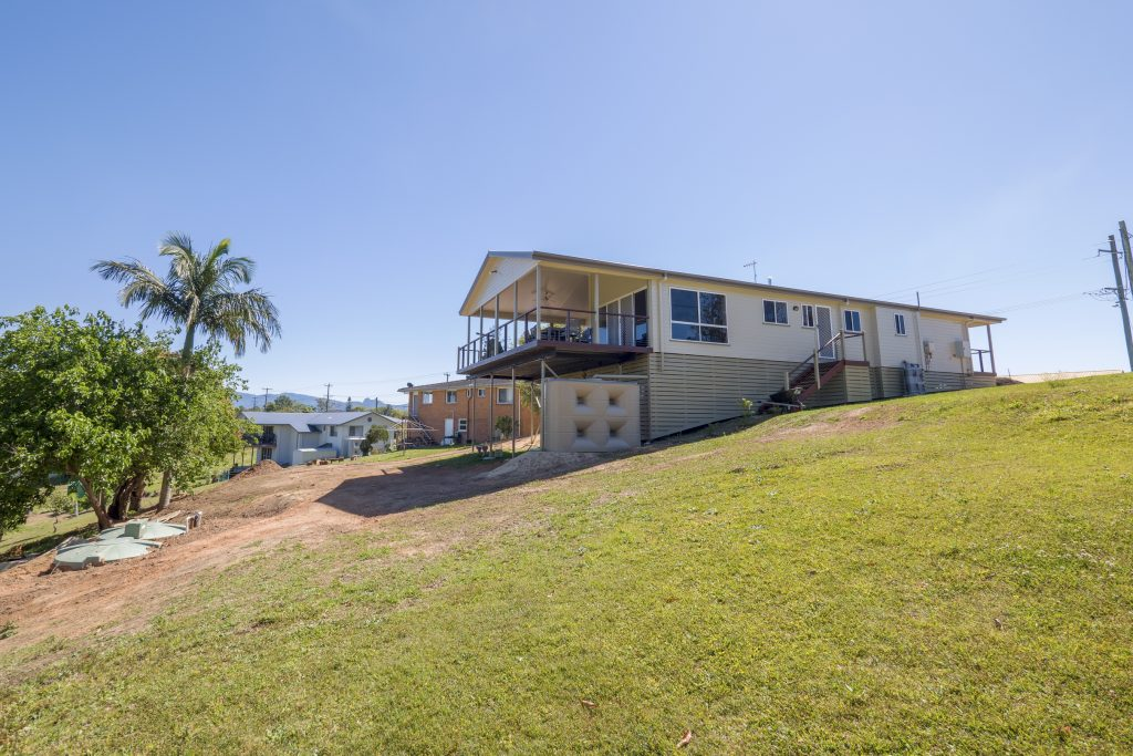 modular homes installed on a sloping site near tweed heads new south wales